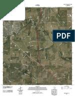 Topographic Map of Pleasanton