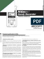 Zoom h4n Manual