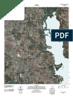 Topographic Map of Denton East