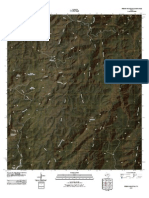 Topographic Map of Friend Mountain