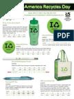 America Recycles Day Merchandise 2012