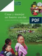 Huertos Escolares FAO