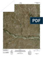 Topographic Map of Pond Creek NW