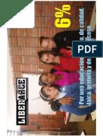 Periódico Liberarce mayo - junio 2012