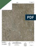 Topographic Map of Benge Corner NW