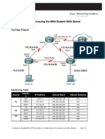 CCNA 4 Skills Based Assessment Instructions