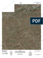 Topographic Map of Smoky Mountain Ranch