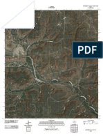 Topographic Map of Horsehead Canyon