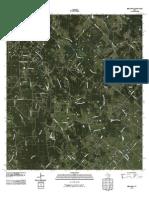 Topographic Map of Bernardo