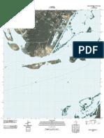 Topographic Map of Port Ingleside