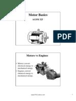 Tutorial Motor Basics Lecture
