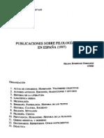 Publicaciones sobre Filología Griega