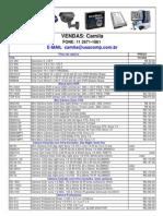 Cftv Tabela Usa 27-01-2012