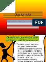 Citas Textuales (2)