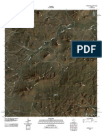 Topographic Map of Mitre Peak