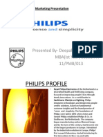 DEEPAK-Philips Pesentation Marketing