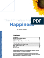 7 Habits to Happyness