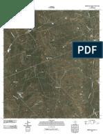 Topographic Map of Cerritos Blancos