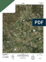 Topographic Map of Huckabay