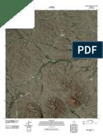 Topographic Map of Cerro Diablo