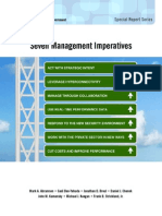 Seven Management Imperatives