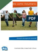 Info Programa Voluntariado