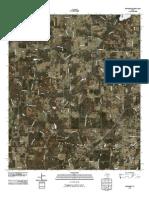 Topographic Map of Pritchett