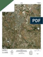 Topographic Map of Lorena