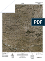 Topographic Map of South Rector Canyon