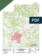 Topographic Map of Huntington