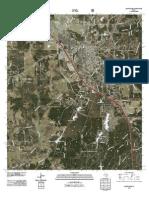 Topographic Map of Huntsville
