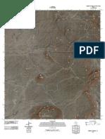 Topographic Map of Puerto Potrillo
