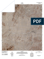 Topographic Map of Dove Mountain