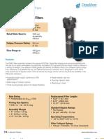 Donaldson Hyfdralic Filter Housing W061 2012 Catalog