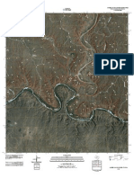 Topographic Map of Lozier Canyon South
