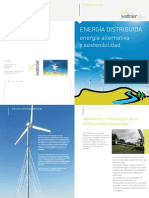 TURBINAS EOLICAS Energia Distribuida 2011