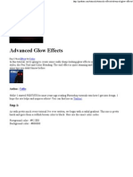advanced glow effects - psd