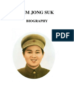 Kim Jong Suk Biography [english]