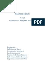 Tema 6. El Dinero