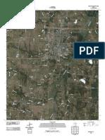 Topographic Map of Bonham