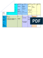 Planning Français