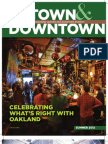 Uptown & Downtown Summer 2012 Newsletter