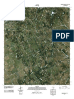 Topographic Map of Cleburne East