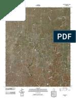 Topographic Map of Stinnett