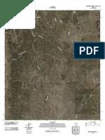 Topographic Map of Bradford Creek