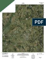 Topographic Map of Bremond