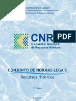 CNRH Normas Legais para Recursos Hídricos 7ª Ed Versao Para Web