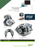 VALEO ALTERNADORES E MOTORES DE PARTIDA 2010/2011 EM PDF