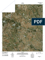 Topographic Map of Bruceville