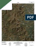 Topographic Map of Buckhorn Mountain